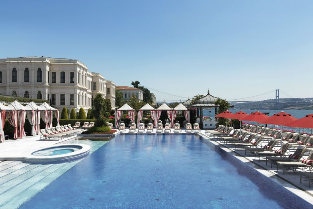 Four Seasons Bosphorus Istanbul pool CR Four Seasons