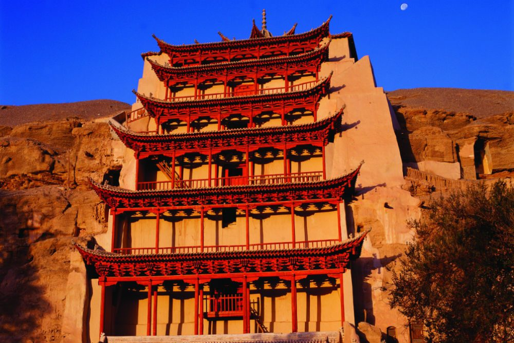 The Mogao Caves in Dunhuang. Photo: WildChina