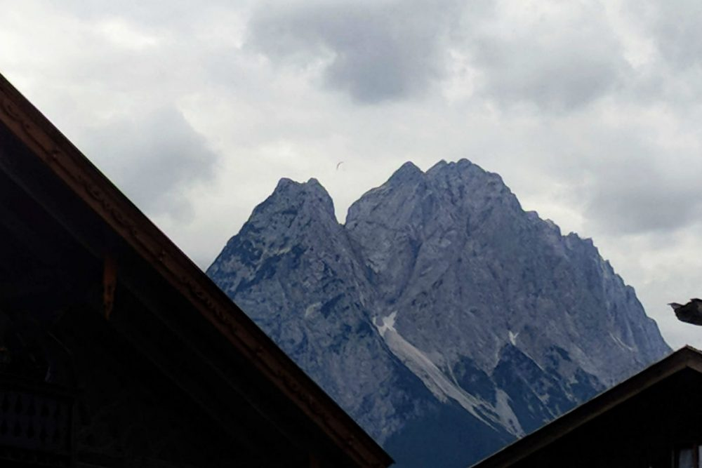 Zugspitze peak in Germany