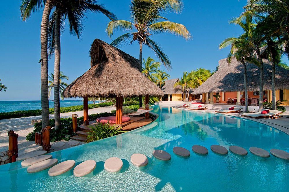 Palmasola villa pool Punta de Mita CR Journey Mexico