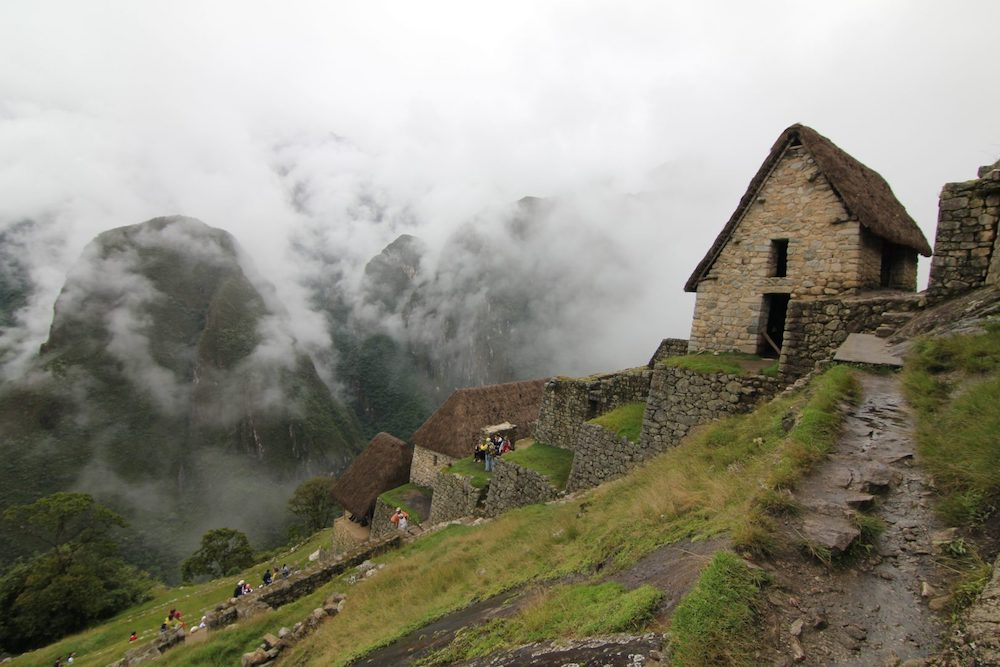 Peru hillside village