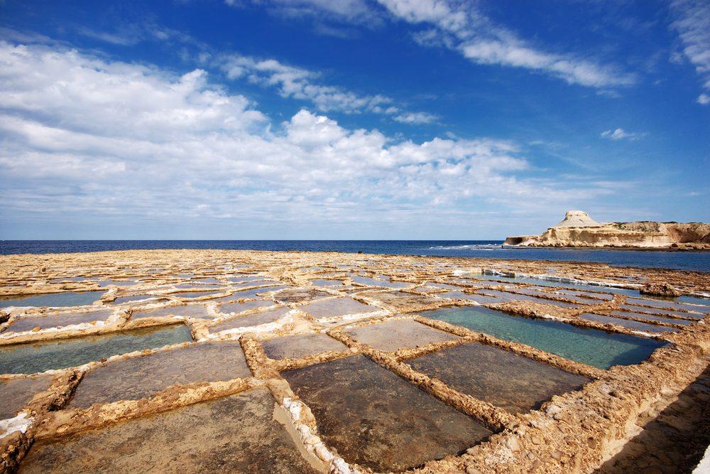 Qbajjar Salt Pans, Malta