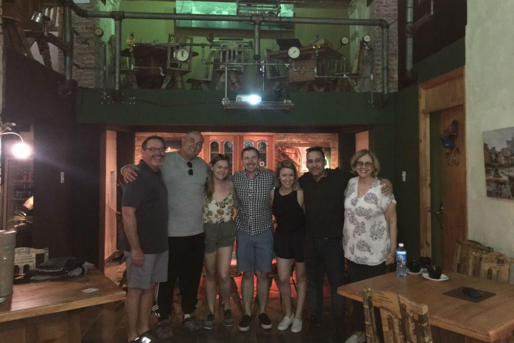 family portrait in Cuba