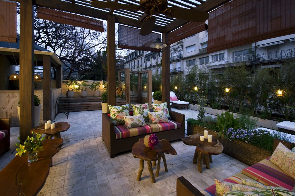 Hub Porteno hotel rooftop lounge in Buenos Aires Argentina