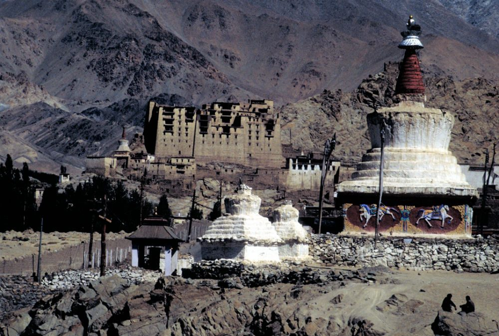 Ruins at Leh Palace, Ladakh, India