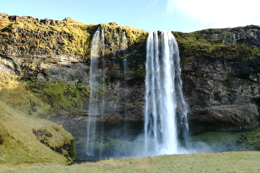Skogafoss waterfall in southern Iceland