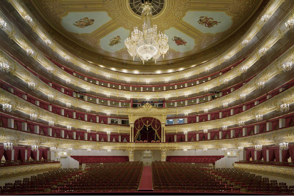 Bolshoi Theater Moscow Russia interior