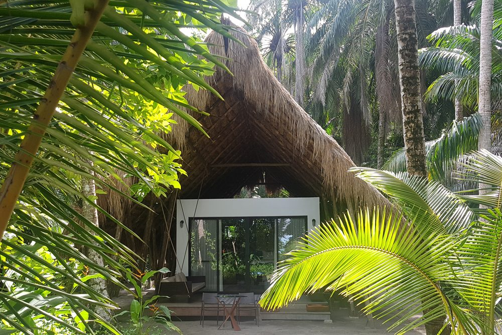 Isla Palenque is an eco-friendly private-island resort off the Pacific coast of Panama.