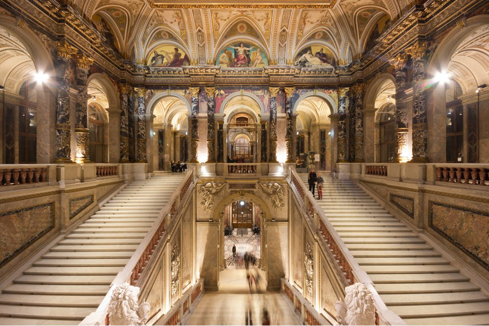 The Kunsthistorisches Museum in Vienna Austria