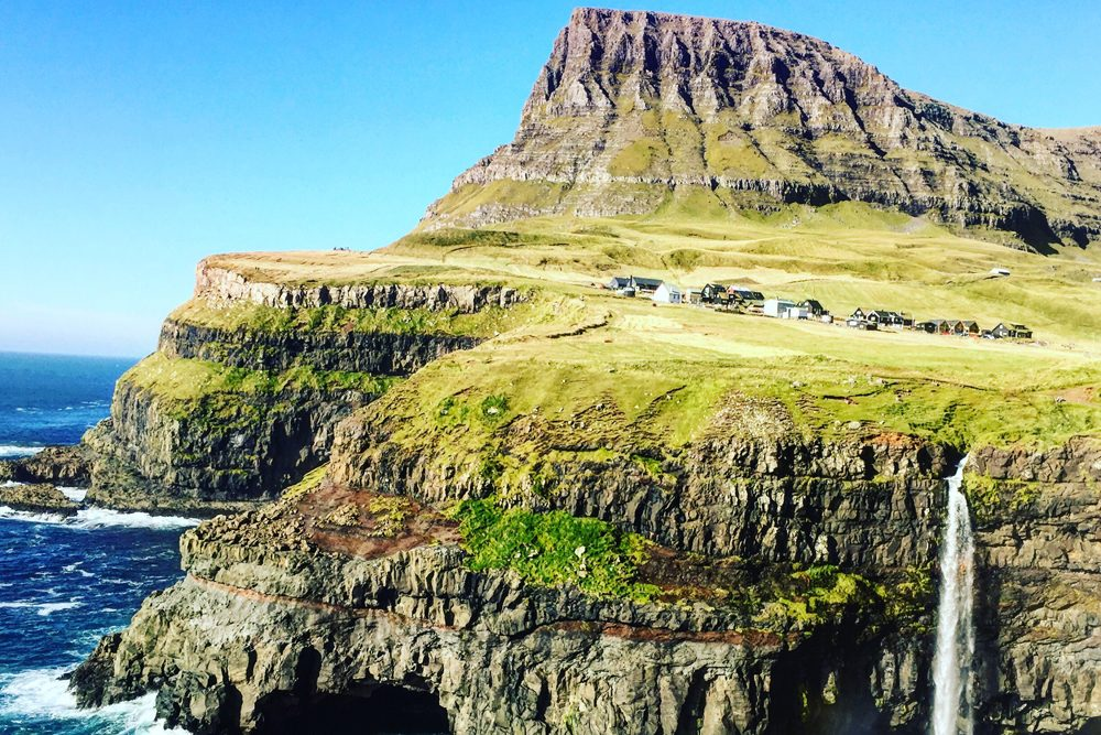 Gásadalur on Vagar Island, Faroe Islands. Photo: Tina Thorman