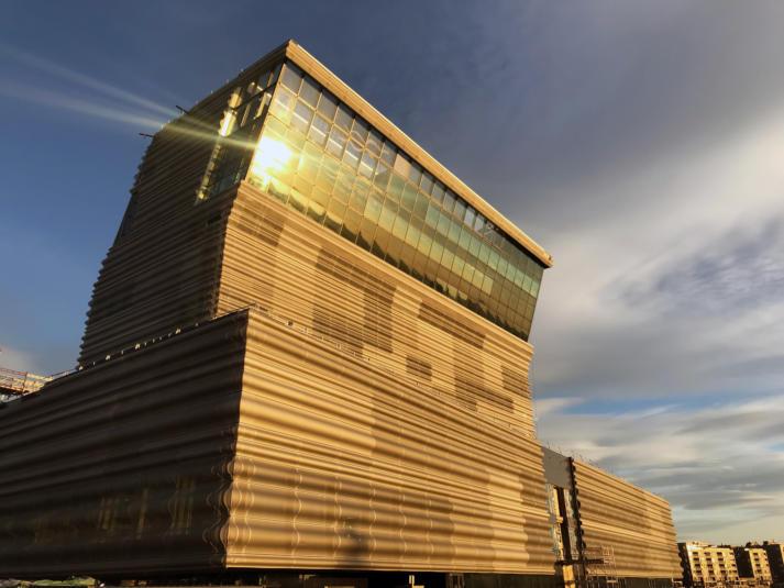 exterio rof Munch Museum opening in Oslo 2020
