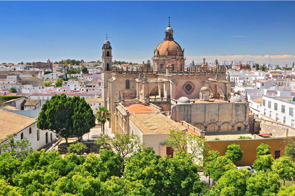 The Cathedral in Jerez de la Frontera, Cadiz Province