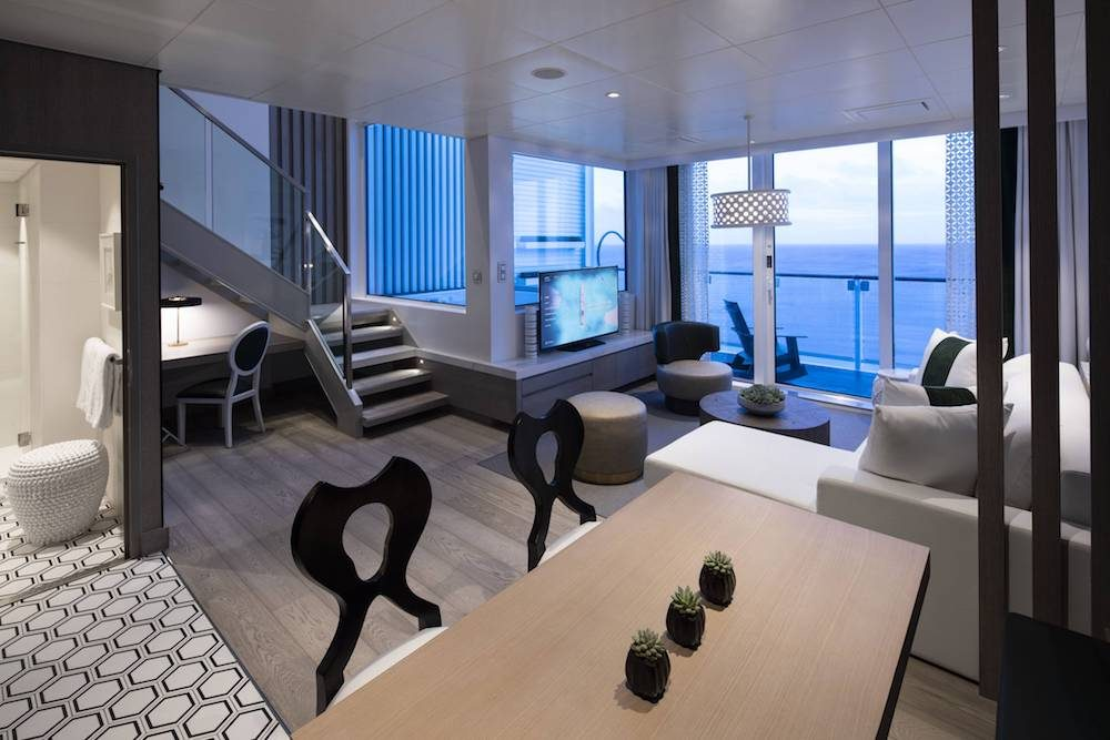 Celebrity Edge cruise ship Edge Villas