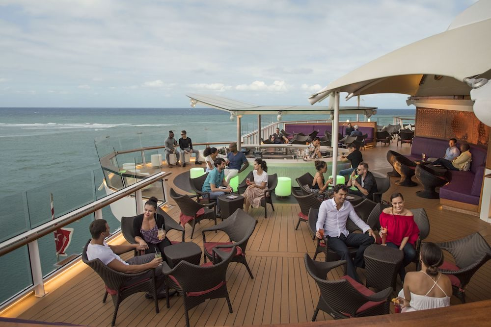 Sunset Bar on the Celebrity Eclipse and Solstice cruise ships