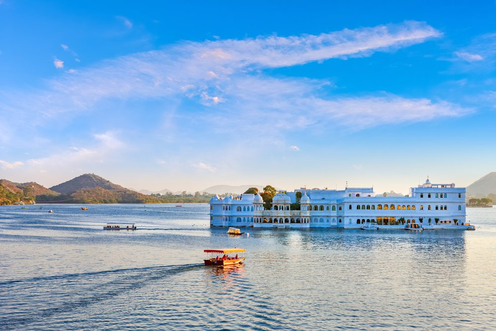 Taj Lake Palace in Udaipur Rajasthan