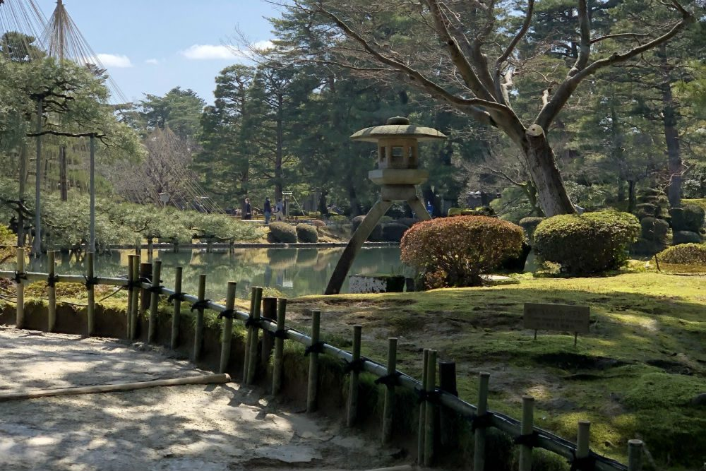 A garden in Kyoto Japan