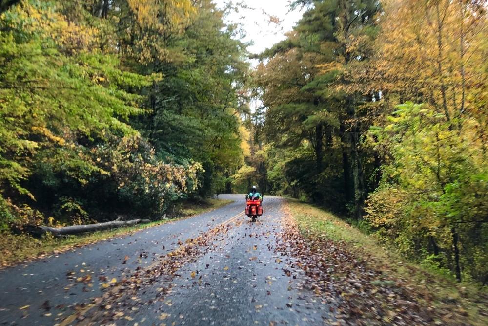 (1)The Blue Ridge Parkway in Virginia, October 2020
