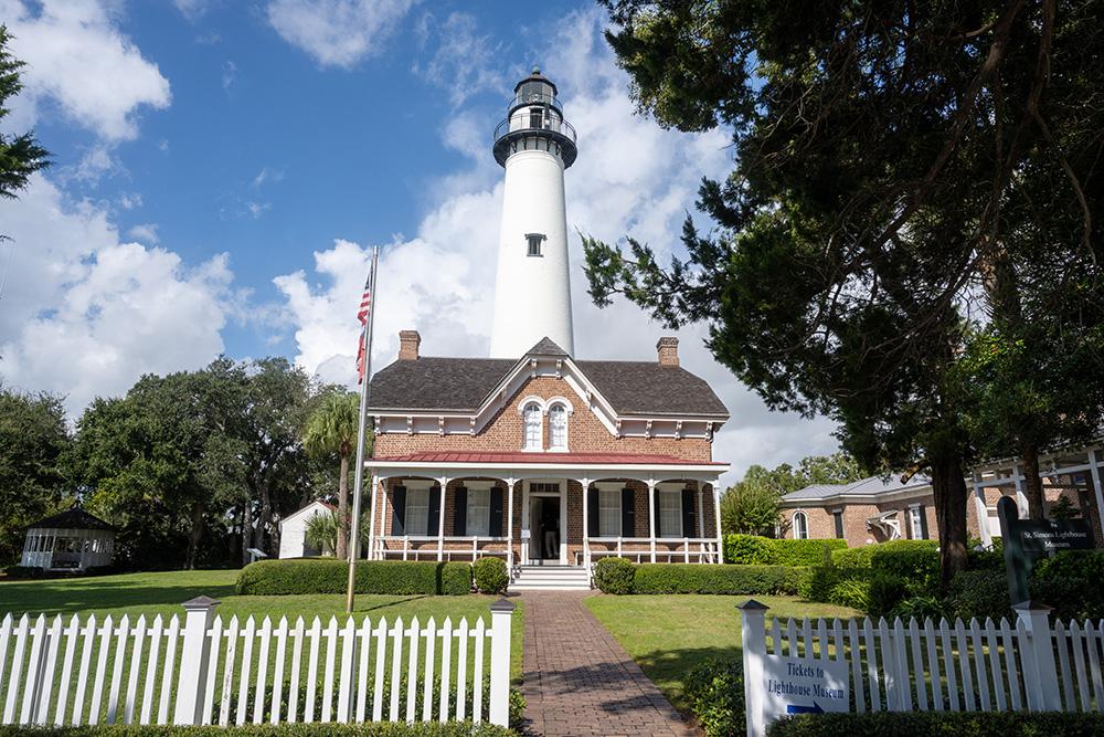 St. Simons Island Lighthouse Museum Georgia