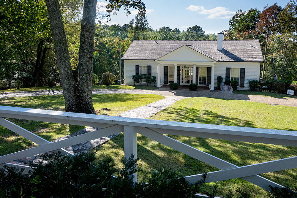 Franklin Delano Roosevelt's Little White House in Warm Springs, Georgia