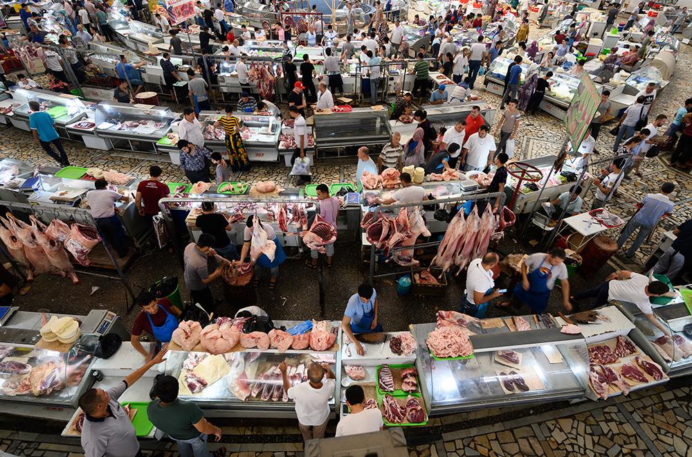 Uzbekistan Tashkent market