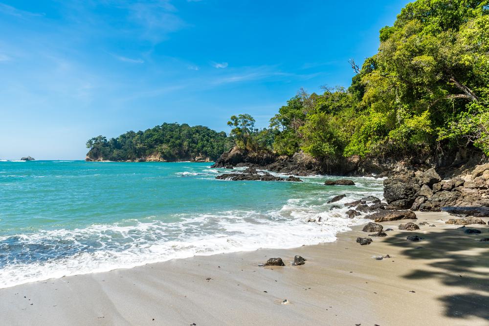 Manuel Antonio beach, Costa Rica - tropical pacific coast