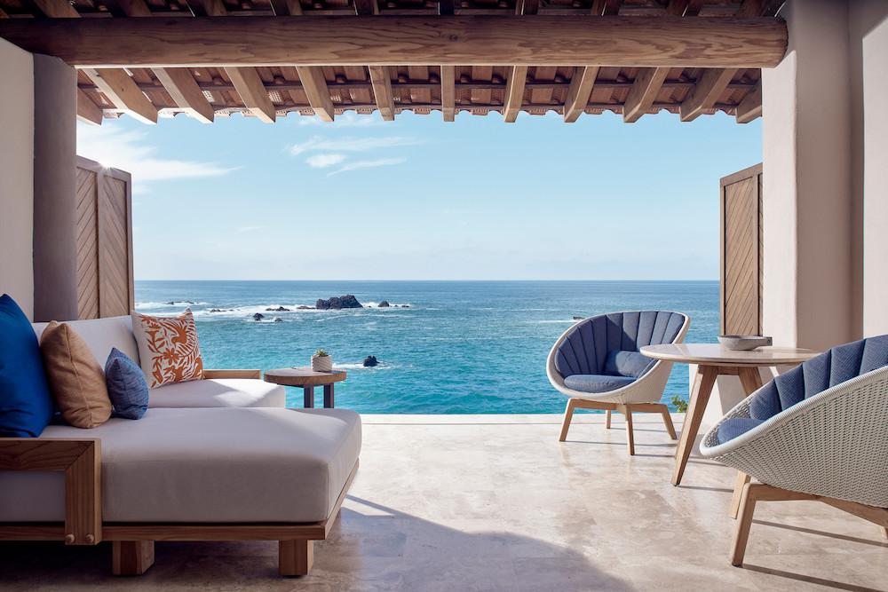 Four Seasons Punta Mita Mexico ocean view from room