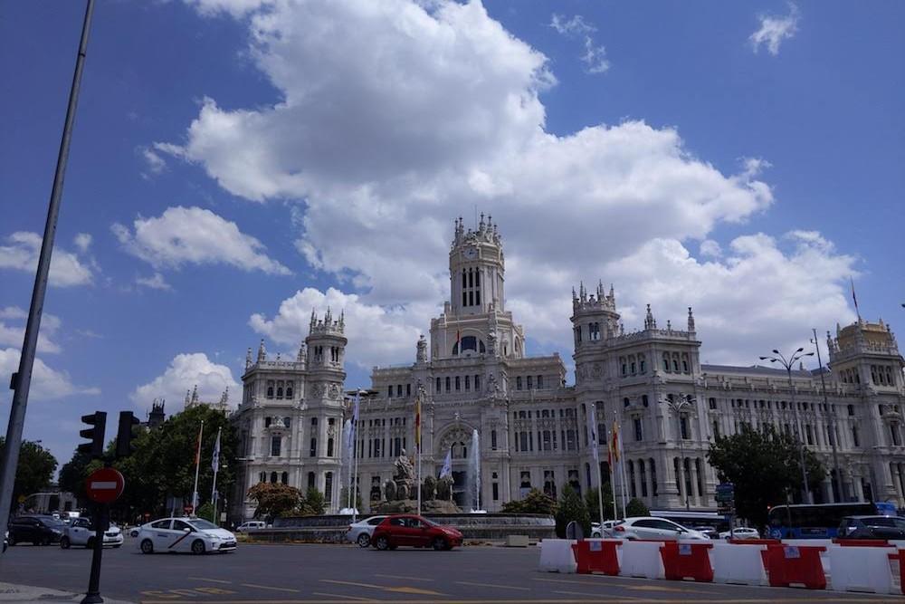 Madrid Spain City Hall