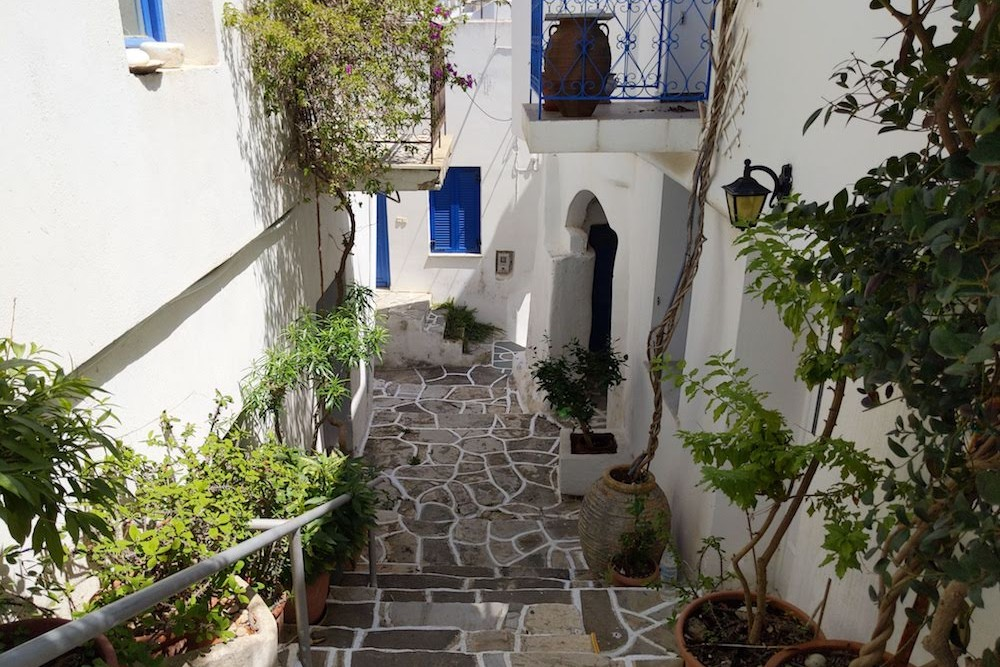 Paros Greece Lefkes Village